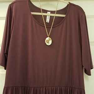 Zenana Outfitters 3X Waist Dress